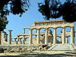 Aphaia temple on Aegina: Cruises on crewed yachts and gulets in Classical Greece and Turkey.