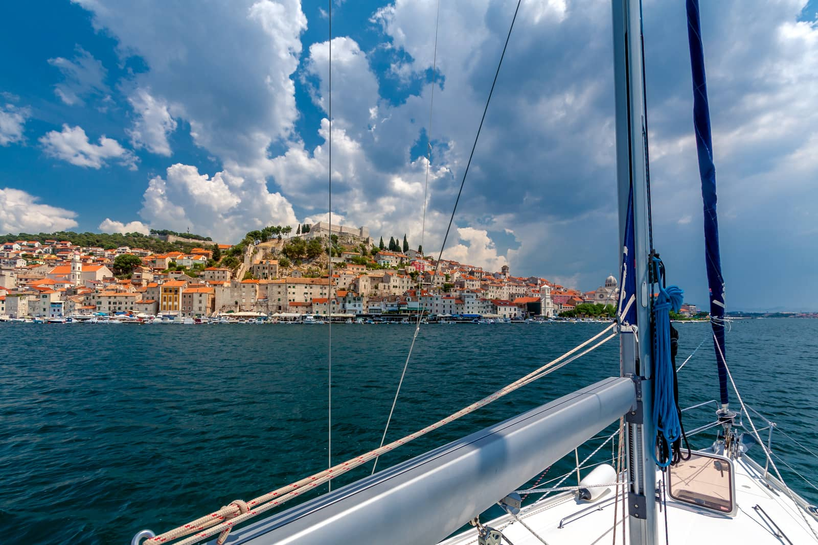 Karte Split Dubrovnik.Croatia Sailing Holidays And Yacht Charters