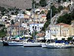 Flotilla holidays Greece: Symi island in the Dodecanese