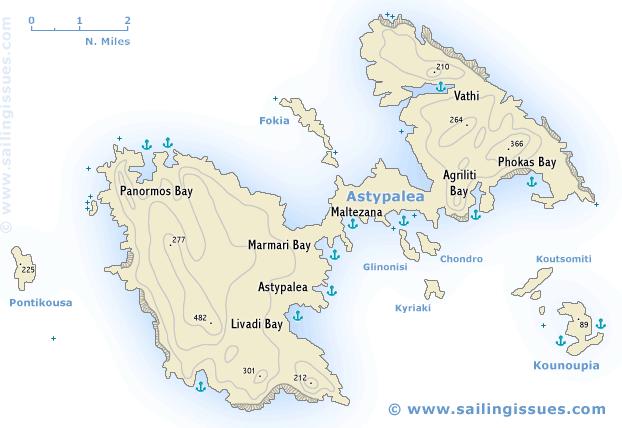 Astypalea Island