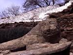 The famous Lion of Kea