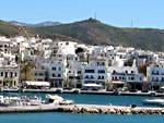 The port and town of Naxos.