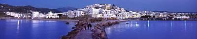 Naxos town on Naxos island