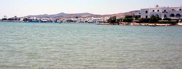 The port of Karavostasi on Folegandros