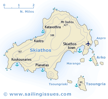 Skiathos sailing and yacht charter guide - Skiathos Island ...