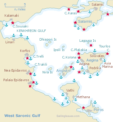 Saronic Gulf Athens Yachting Guide Sailing Holidays