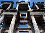 The library at Ephesus - Sailing holiday Turkey