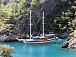 Sailing Turkey - Gulet cruises are the best and most luxurious way to see these beautiful Turkish coasts.