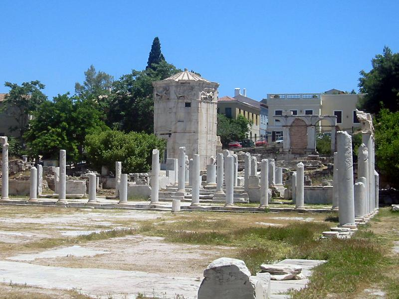 Tower of the Winds - Roman agora